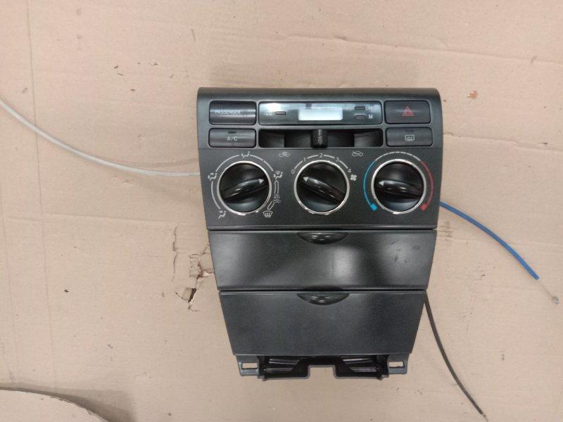 Блок управления климат-контролем Toyota Corolla Runx NZE121 1NZ-FE 2002
