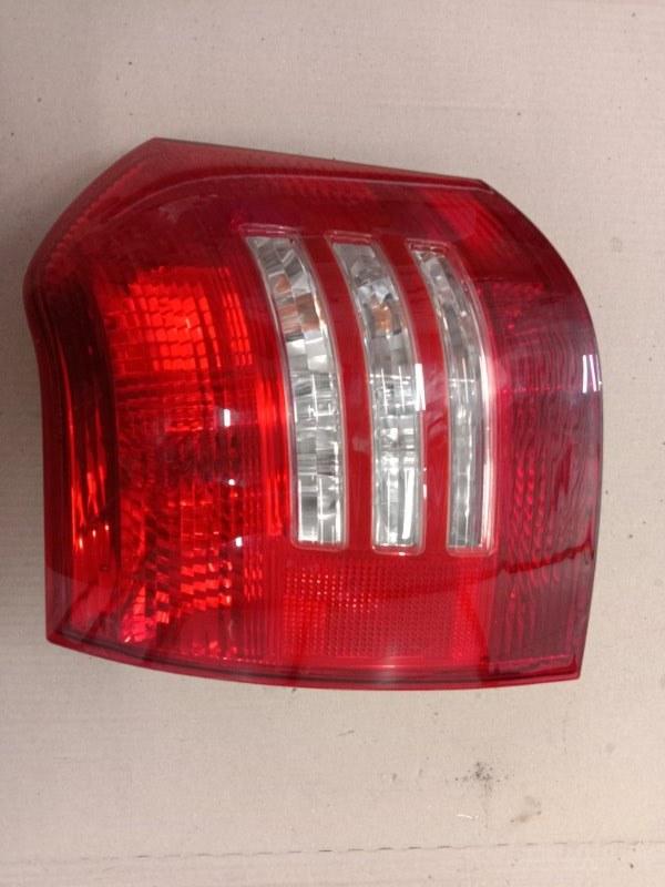 Фонарь стоп-сигнала Toyota Corolla Runx NZE121 1NZ-FE 2002 задний левый