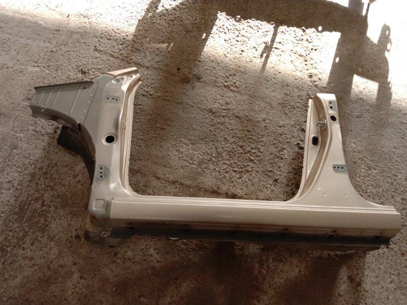 Порог Toyota Corolla Runx NZE121 1NZ-FE 2002 передний левый