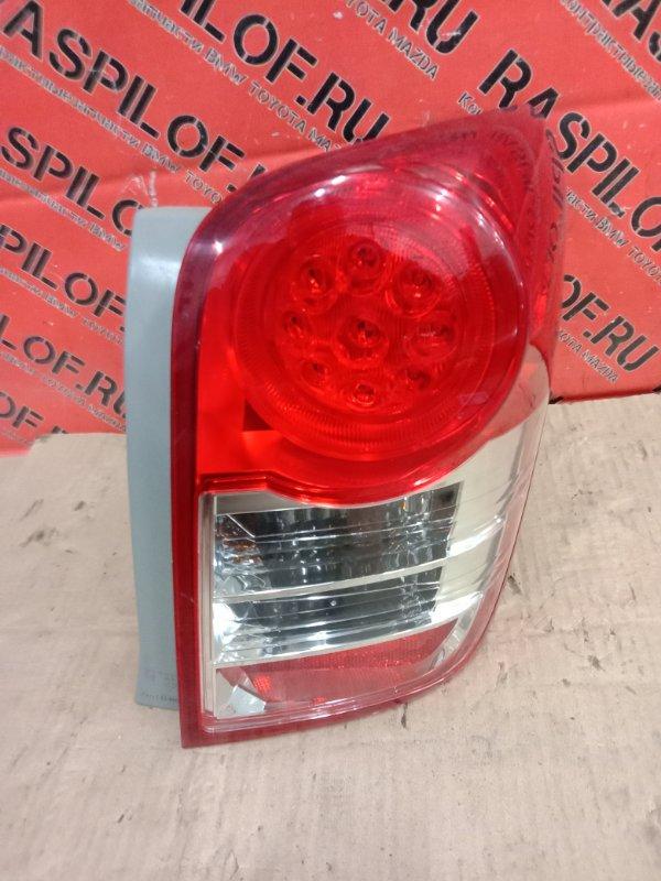 Фонарь стоп-сигнала Toyota Corolla Fielder NZE144 1NZ-FE 2010 правый