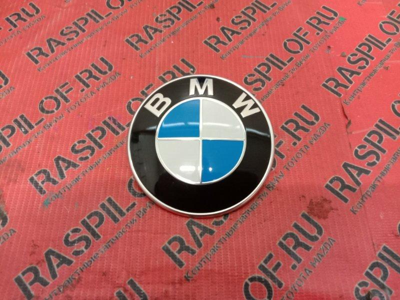 Эмблема Bmw 1-Series E87 N45B16A 2007 передняя