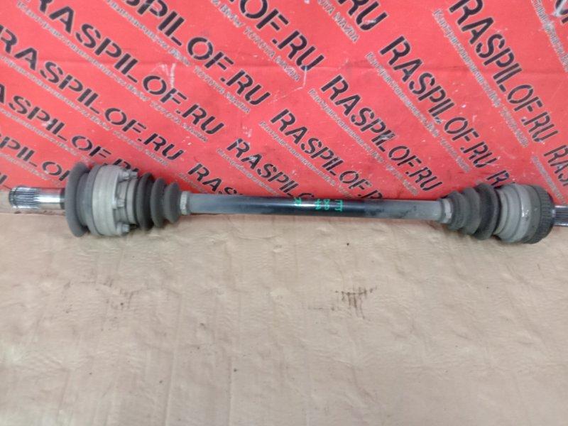 Привод Bmw 1-Series E87 N45B16A 2007 задний правый