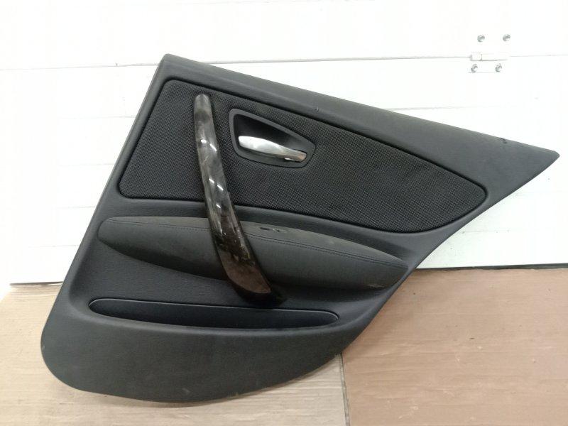 Обшивка двери Bmw 1-Series E87 N45B16A 2007 задняя правая