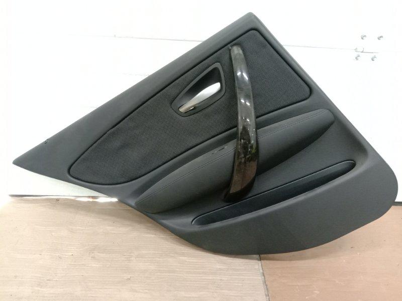 Обшивка двери Bmw 1-Series E87 N45B16A 2007 задняя левая
