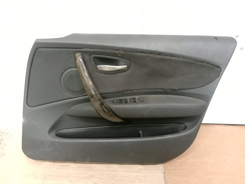 Обшивка двери Bmw 1-Series E87 N45B16A 2007 передняя правая