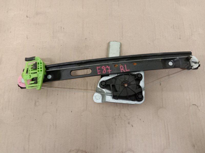 Стеклоподъемник Bmw 1-Series E87 N45B16A 2007 задний левый