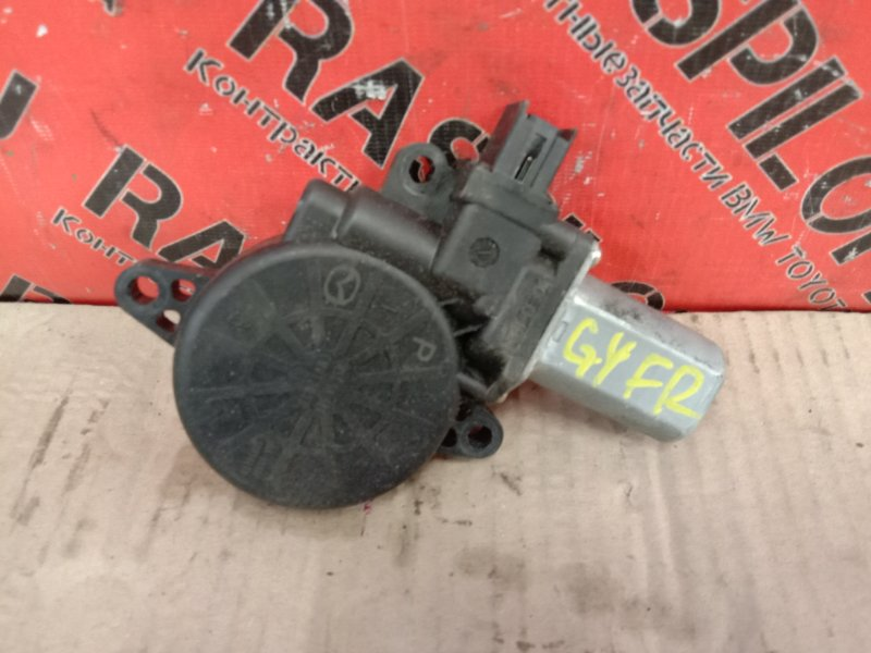 Мотор стеклоподъмника Mazda Atenza GHEFP LF-VD 2010 передний правый