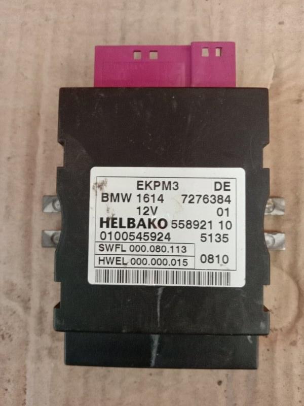 Блок управления топливным насосом Bmw 5-Series F 10 N52B30A 2010