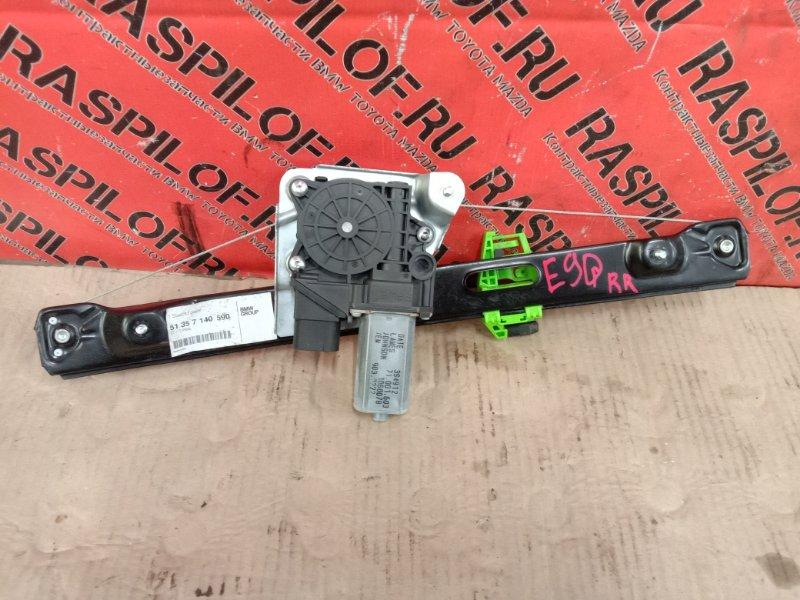 Стеклоподъемник Bmw 3-Series E90 N54B30A 2006 задний правый