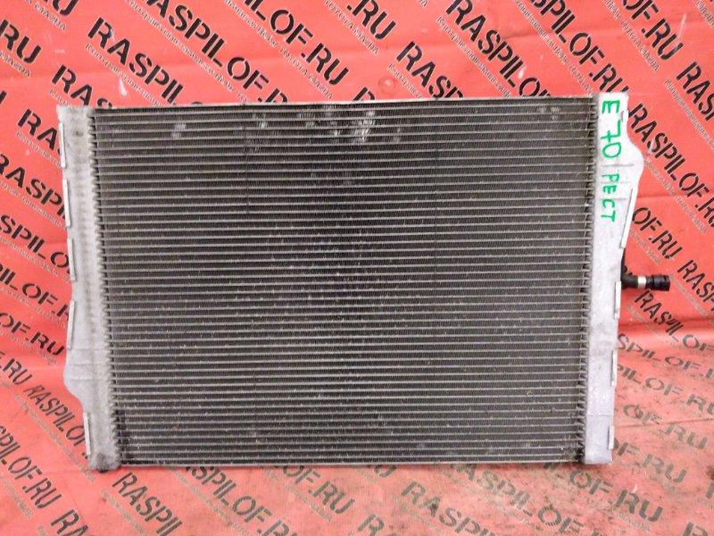 Радиатор двигателя Bmw X5 E70 N55B30 2010