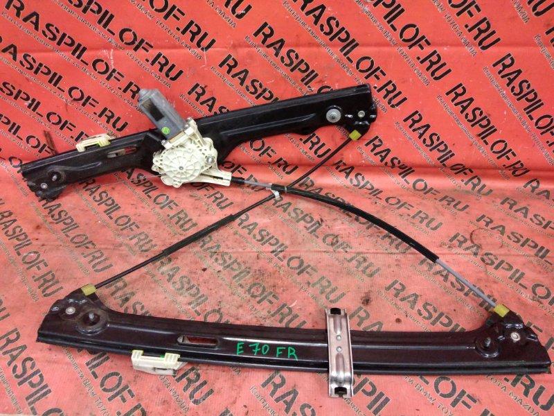 Стеклоподъемник Bmw X5 E70 N55B30 2010 передний правый