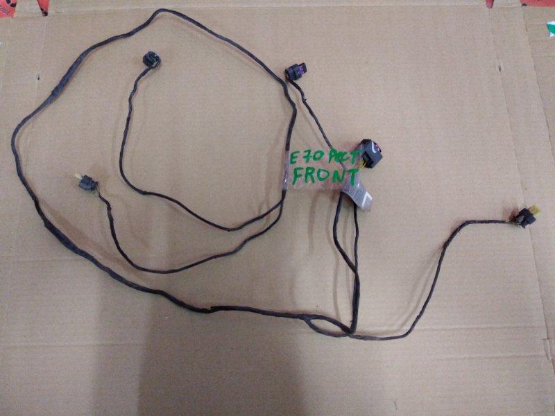 Электропроводка Bmw X5 E70 N55B30 2010 передняя