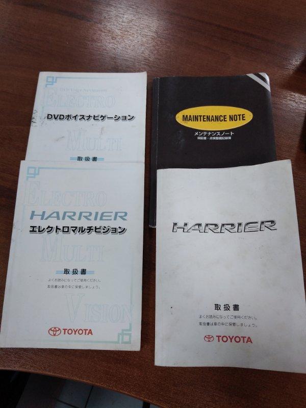 Папка под документы Toyota Harrier MCU35 1MZ-FE 2003