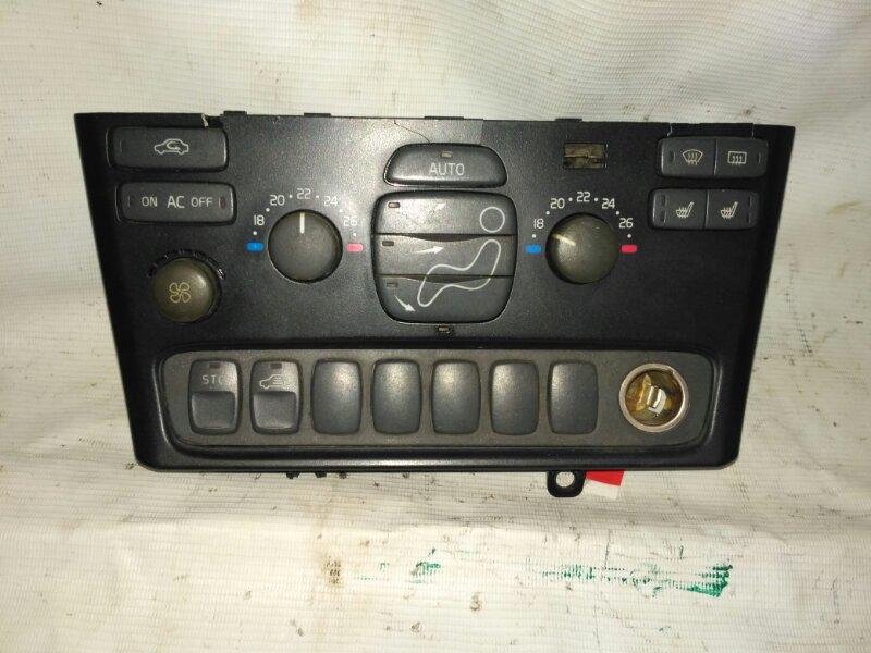 Блок управления климатической установкой для Volvo S80 1998-2006