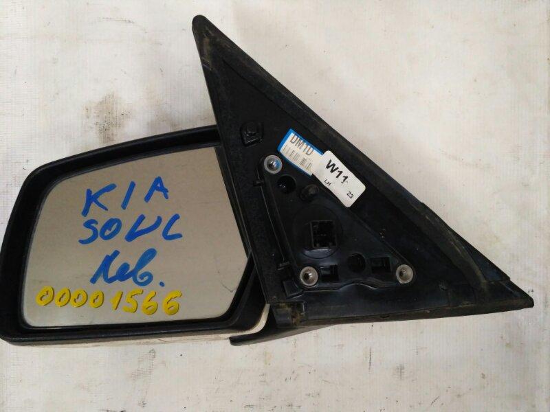 Зеркало боковое левое Kia Soul