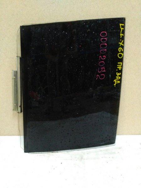 Стекло двери Lifan X60 LFB479Q с 2012 заднее правое