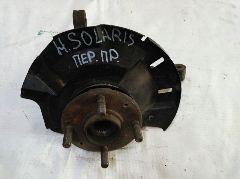 Ступица передняя правая Hyundai Solaris