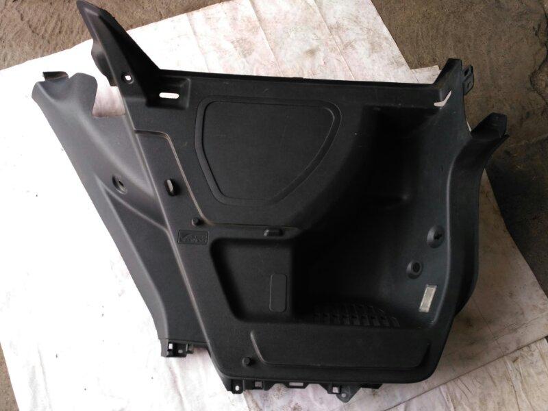 Обшивка багажника Skoda Fabia 5J2 CGPA 2010 левая
