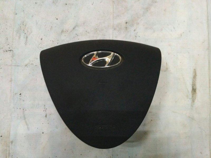Подушка безопасности (air bag) в руль Hyundai I30 FD G4FC 2007
