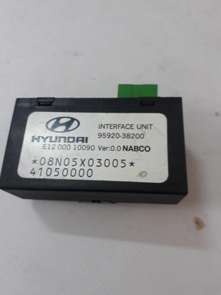 Блок электронный Hyundai Sonata EF G4GC 2001
