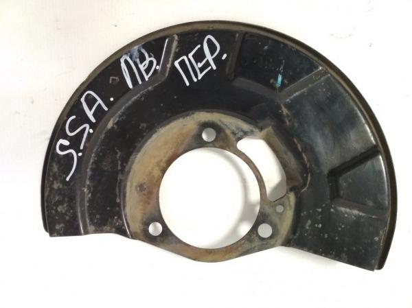 Пыльник тормозного диска Ssang Yong Actyon Sport D20DT 2006 передний левый