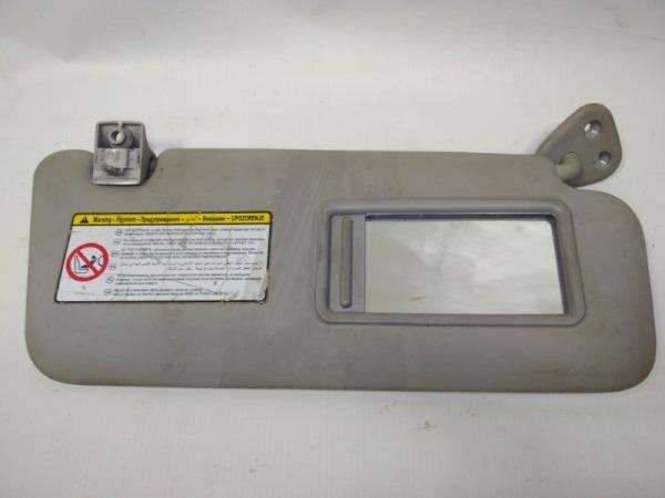 Козырек солнцезащитный (внутри) Hyundai I30 FD G4FC 2007 правый