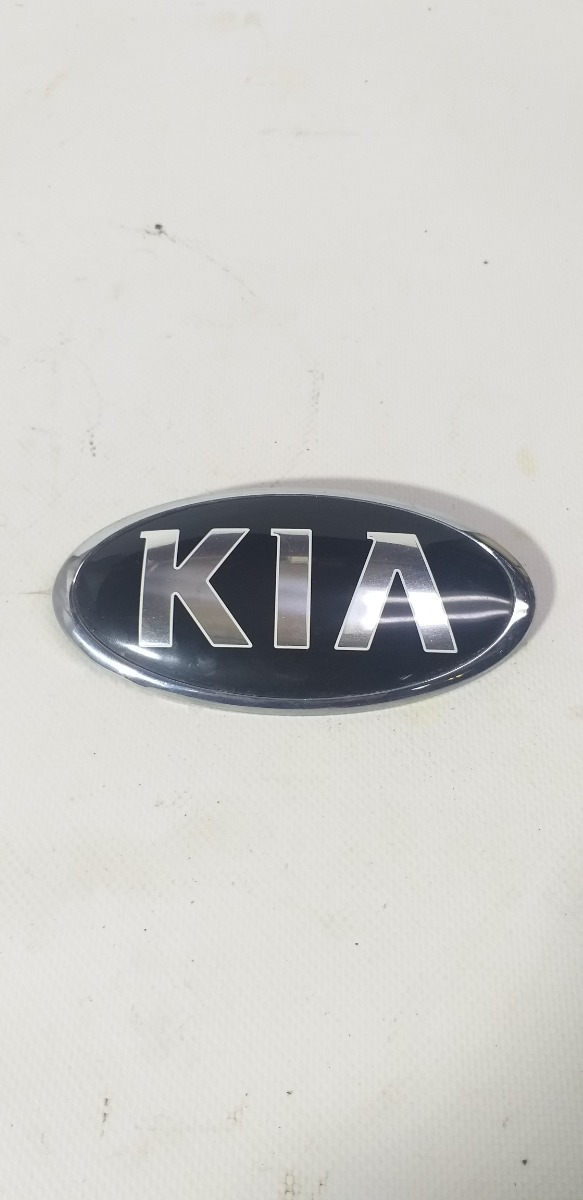 Эмблема Kia Rio X-Line КРОСС-ХЭТЧБЕК G4FG 2017 передняя