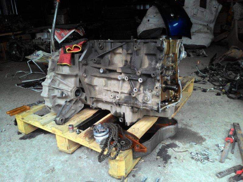 Двигатель Mazda Axela BK3P LFDE