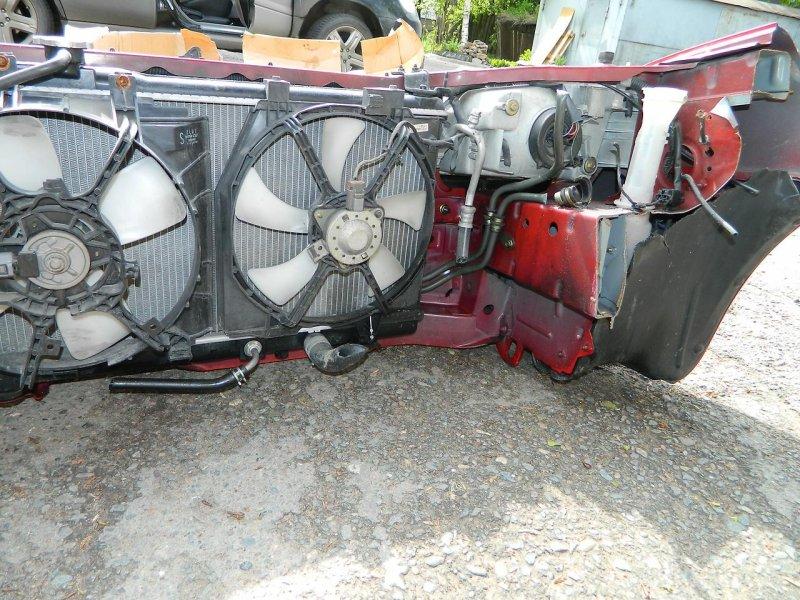 Вентилятор радиатора кондиционера Mazda Familia BJ5P