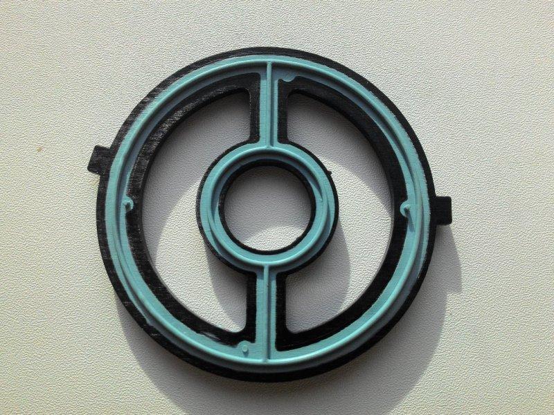 Прокладка охладителя масла Mazda Axela BL3FW