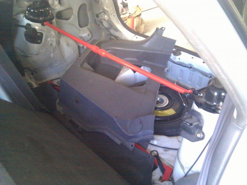Распорка Mazda Laser BJFP задняя