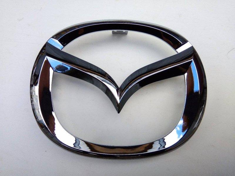 Эмблема решетки радиатора Mazda Atenza Sport GHEFW