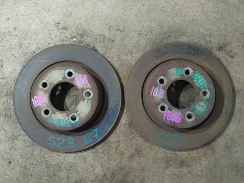 Диски тормозные Mazda Mazda3 BK LF 2003 задние