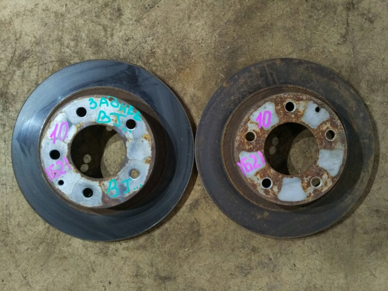 Диски тормозные Mazda Familia BJFP FP 1998 задние
