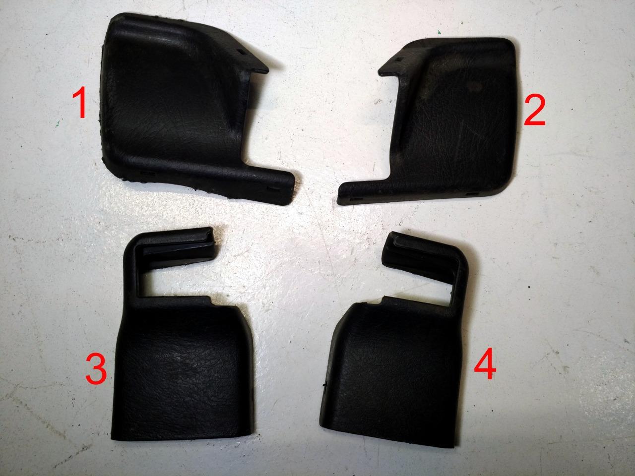 Накладка крепления сидения Honda Accord GH-CF3