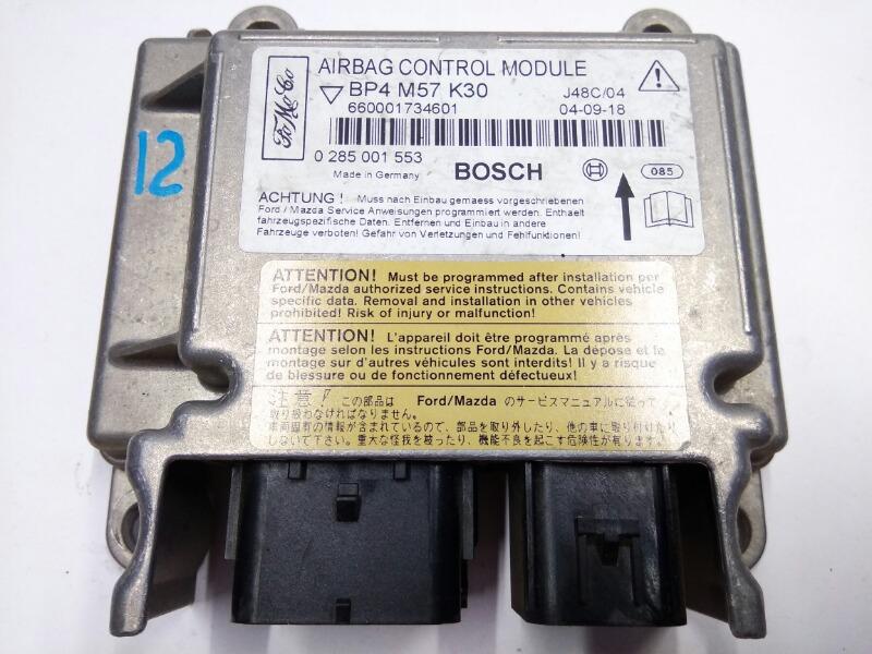 Блок управления подушками безопасности Mazda Axela BK