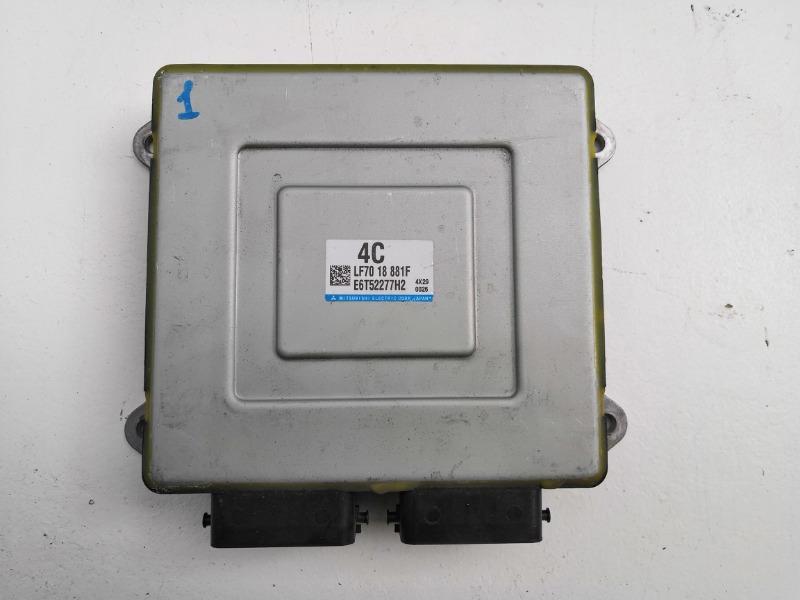 Блок управления двс Mazda Axela BKEP LFDE