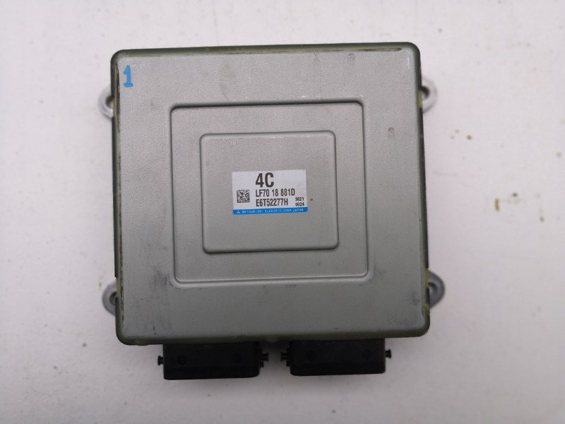 Блок управления двигателем Mazda Axela BKEP LFDE