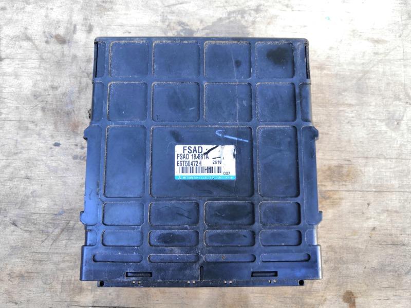 Блок управления двигателем Mazda Familia BJFP FSZE