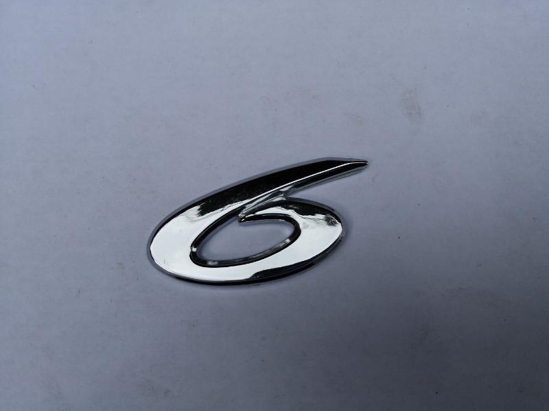 Эмблема багажника Mazda Mazda6 GG