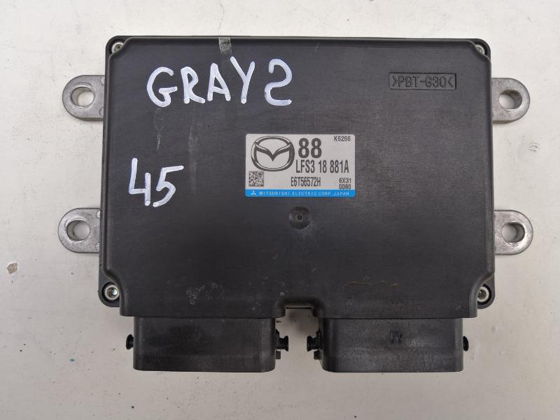 Блок управления двигателем Mazda Axela BKEP LF-VE 2006