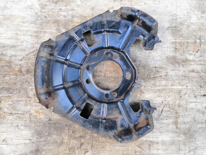 Пыльник тормозного диска Mazda Mazda6 GH 2008 задний