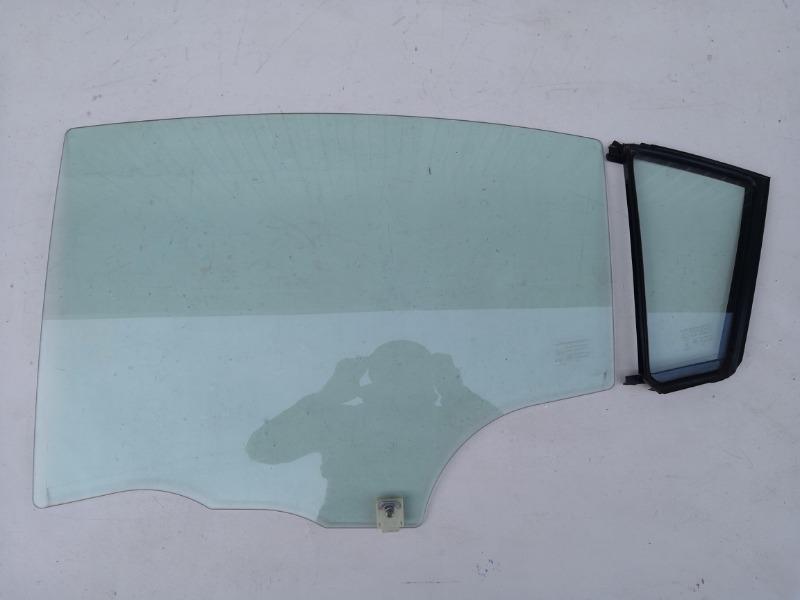 Стекло двери Mazda Axela BK3P заднее левое