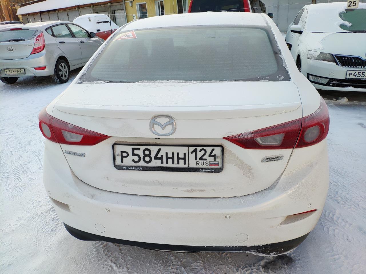 Спойлер Mazda Mazda3 BN 2013