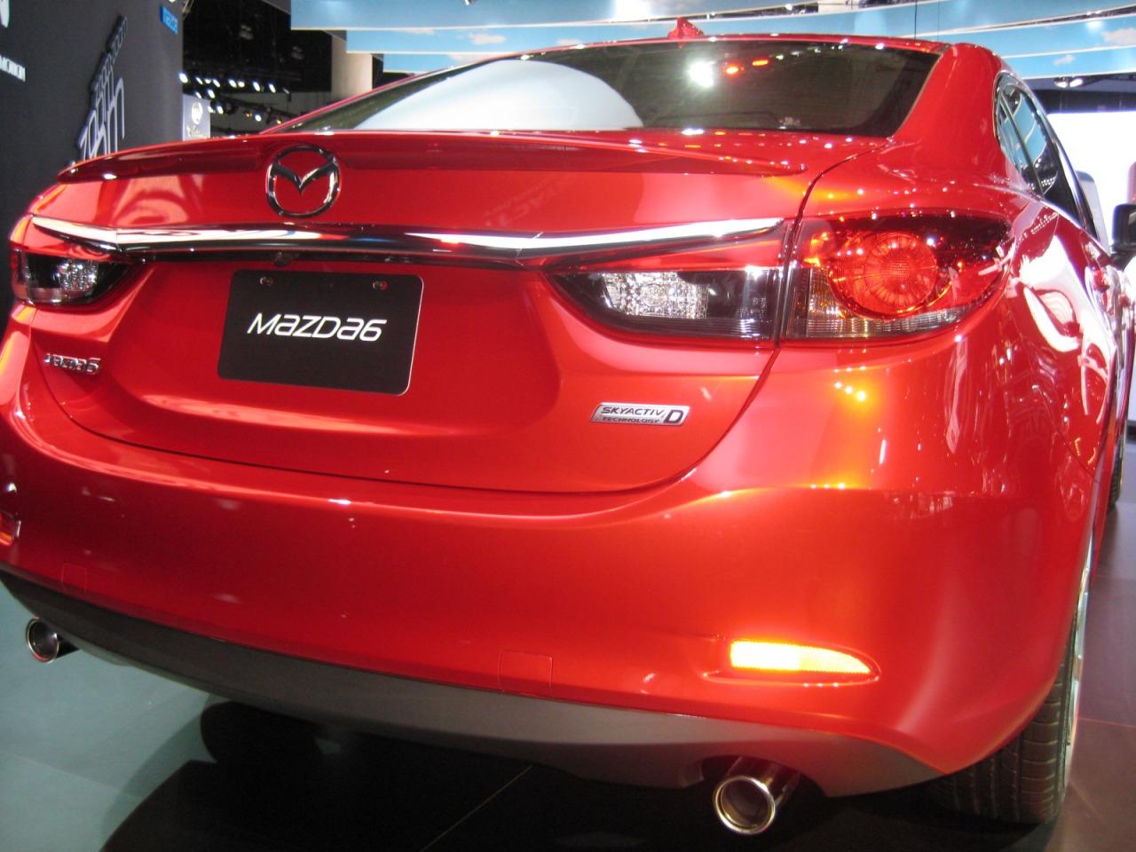 Спойлер Mazda Mazda6 GJ 2013