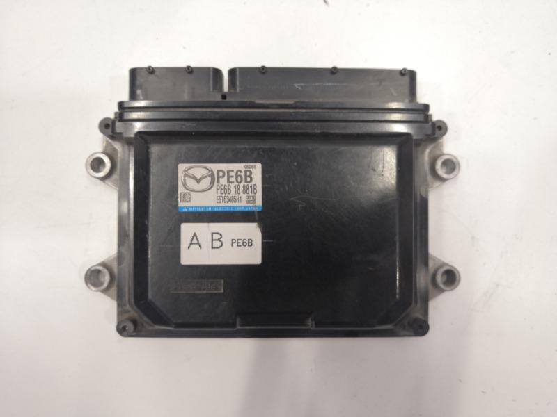 Блок управления двигателем Mazda Mazda Cx-5 GJ PE 2012