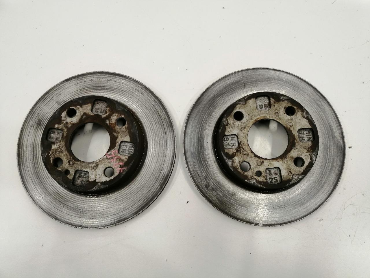 Диски тормозные Mazda Familia BJ3P B3