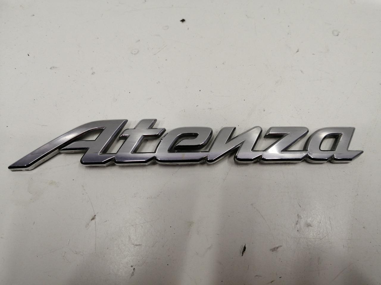 Эмблема Mazda Atenza GH 2008