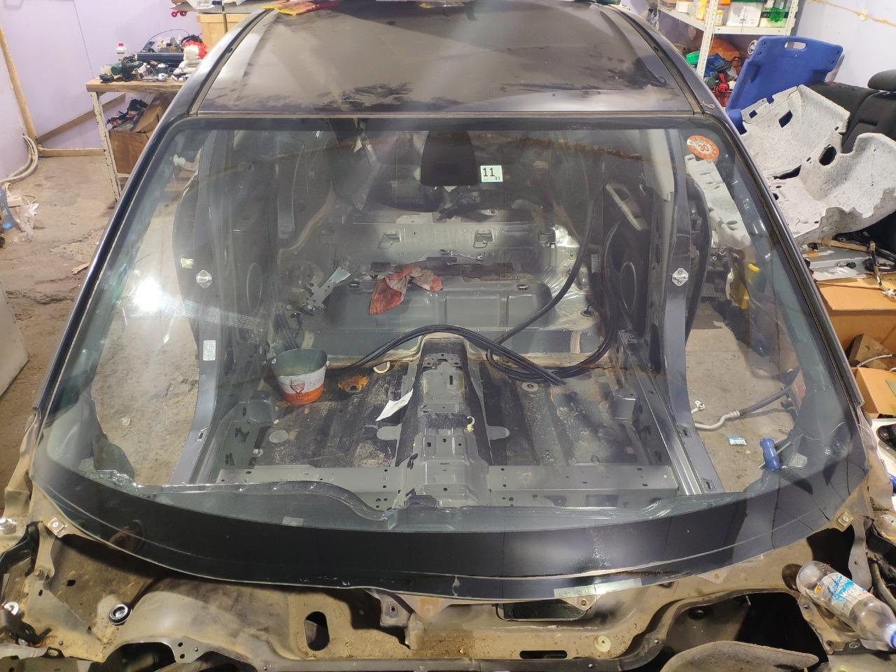 Стекло лобовое Mazda Axela BK3P 2003