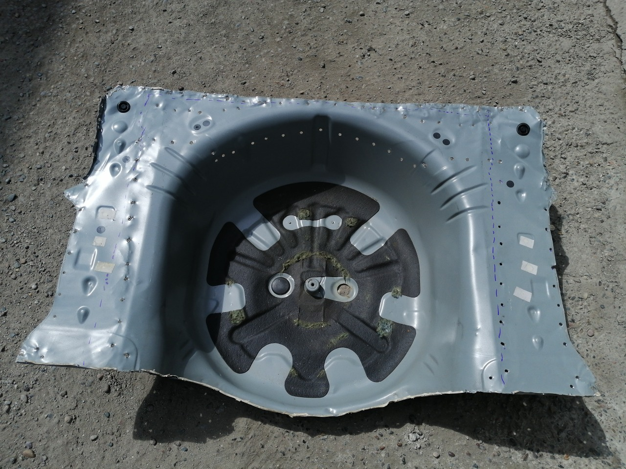 Ниша запасного колеса Mazda Mazda6 GH 2008 задняя